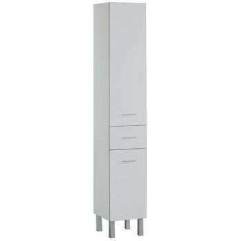 Шкаф-пенал для ванной Aquanet Верона 35 белый (напольный)