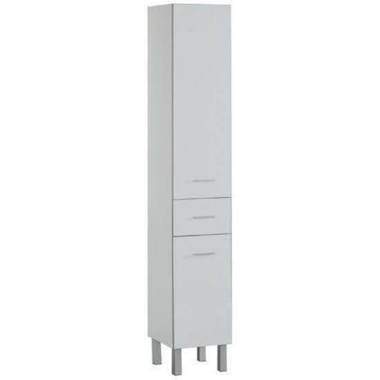 Шкаф-пенал для ванной Aquanet Верона 35 белый (напольный) в интернет-магазине ROSESTAR фото