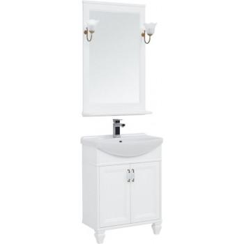 Комплект мебели для ванной Aquanet Валенса NEW 65 белый