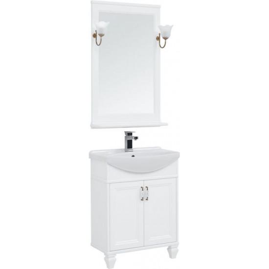 Комплект мебели для ванной Aquanet Валенса NEW 65 белый в интернет-магазине ROSESTAR фото