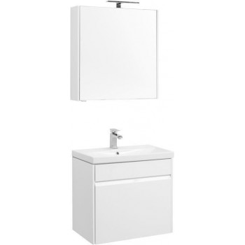 Комплект мебели для ванной Aquanet Палермо 70 белый