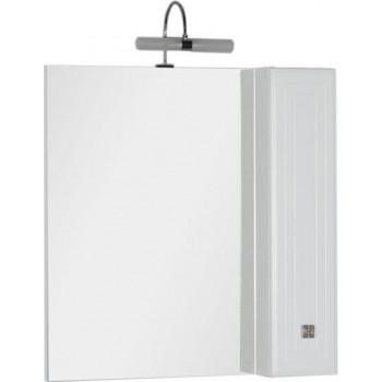 Зеркало-шкаф Aquanet Стайл 85 белый