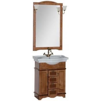 Комплект мебели для ванной Aquanet Луис 70 темный орех