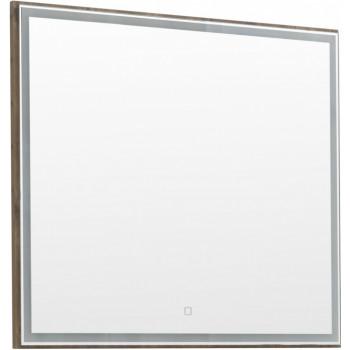 Зеркало Aquanet Nova Lite 90 дуб рустикальный LED