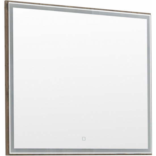Зеркало Aquanet Nova Lite 90 дуб рустикальный LED в интернет-магазине ROSESTAR фото