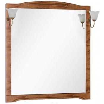 Зеркало Aquanet Луис 100 темный орех