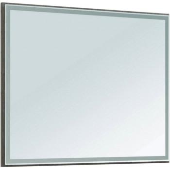 Зеркало Aquanet Nova Lite 100 дуб рошелье LED