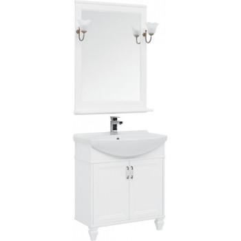 Комплект мебели для ванной Aquanet Валенса NEW 75 белый