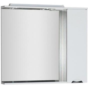 Зеркало-шкаф с подсветкой Aquanet Гретта 100 венге