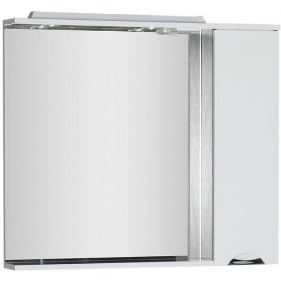 Зеркало-шкаф с подсветкой Aquanet Гретта 100 венге в интернет-магазине ROSESTAR фото