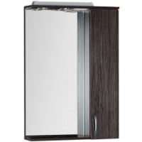 Зеркало-шкаф с подсветкой Aquanet Донна 60 венге