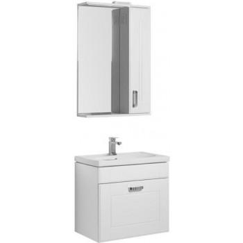 Комплект мебели для ванной Aquanet Рондо 60 белый (1 ящик)