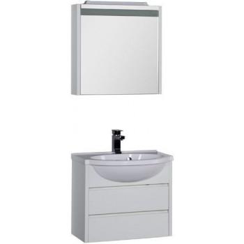 Комплект мебели для ванной Aquanet Лайн 60 белый