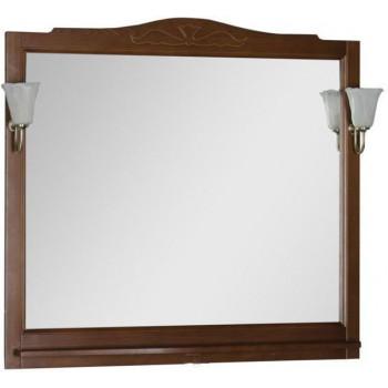 Зеркало Aquanet Амелия 110 орех
