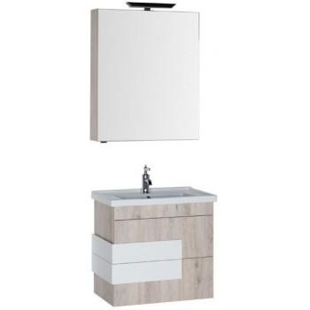 Комплект мебели для ванной Aquanet Мадейра 70 дуб кантри