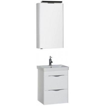 Комплект мебели для ванной Aquanet Орлеан 50 белый
