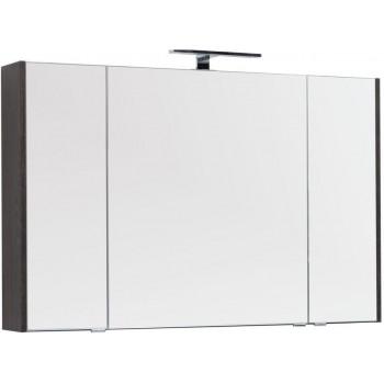 Зеркало-шкаф Aquanet Остин 120 дуб кантербери