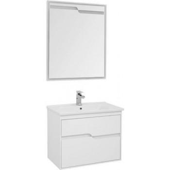 Комплект мебели для ванной Aquanet Модена 75 белый