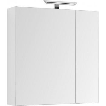 Зеркало-шкаф Aquanet Йорк 85 белый