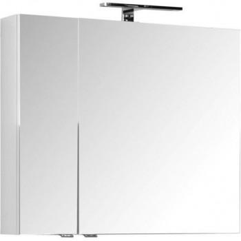 Зеркало-шкаф Aquanet Порто 80 белый