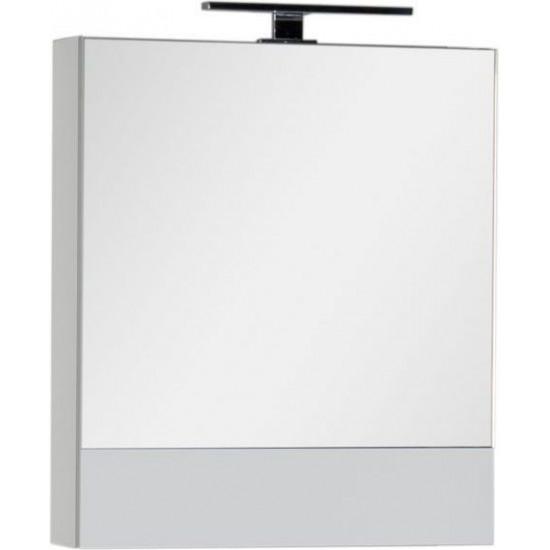 Зеркало-шкаф Aquanet Верона 58 белый в интернет-магазине ROSESTAR фото