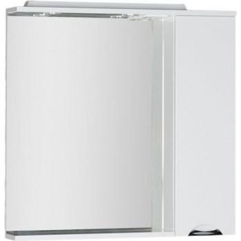 Зеркало-шкаф с подсветкой Aquanet Гретта 90 белый