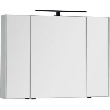 Зеркало-шкаф Aquanet Латина 100 белый