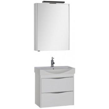 Комплект мебели для ванной Aquanet Франка 65 белый