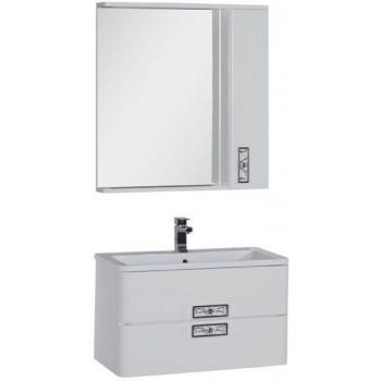 Комплект мебели для ванной Aquanet Паллада 80 белый