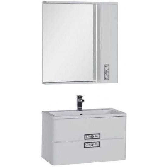 Комплект мебели для ванной Aquanet Паллада 80 белый в интернет-магазине ROSESTAR фото