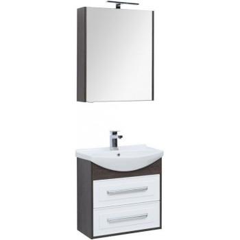 Комплект мебели для ванной Aquanet Остин 65 дуб кантербери/белый