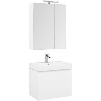 Комплект мебели для ванной Aquanet Йорк 70 белый