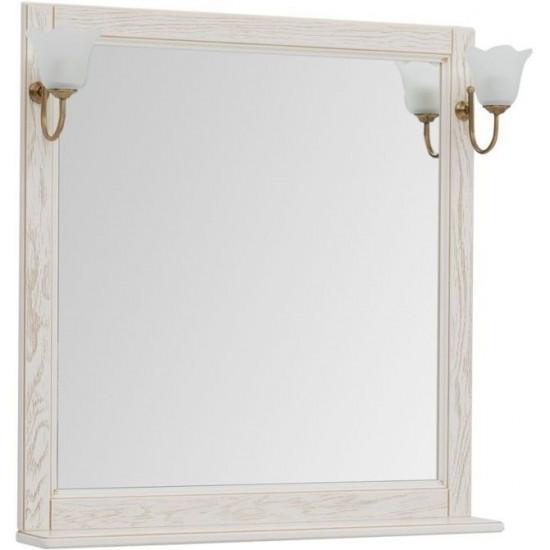 Зеркало Aquanet Тесса Декапе 85 жасмин/золото в интернет-магазине ROSESTAR фото