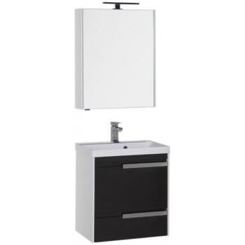 Комплект мебели для ванной Aquanet Тиволи 60 черный