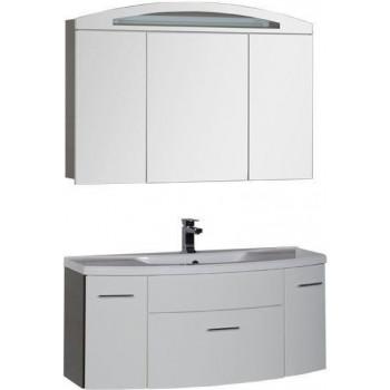 Комплект мебели для ванной Aquanet Тренто 120 венге