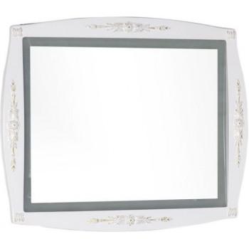 Зеркало Aquanet Виктория 90 белый/золото