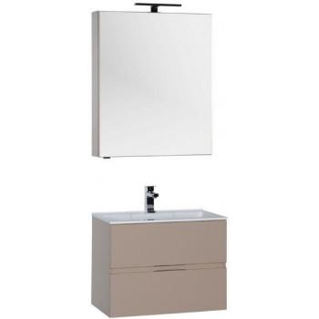 Комплект мебели для ванной Aquanet Алвита 70 капучино
