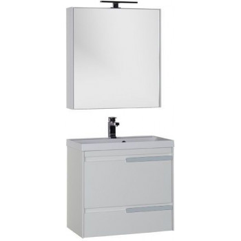 Комплект мебели для ванной Aquanet Тиволи 70 белый