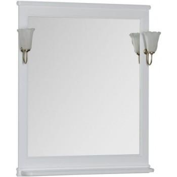 Зеркало Aquanet Валенса 80 белый