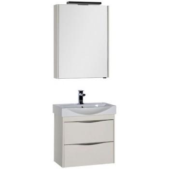 Комплект мебели для ванной Aquanet Франка 65 слоновая кость