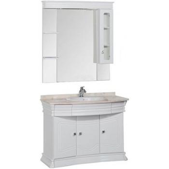 Комплект мебели для ванной Aquanet Греция 110 белый (бежевый)
