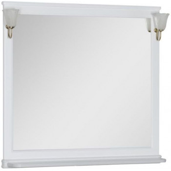 Зеркало Aquanet Валенса 110 белый