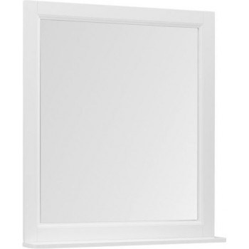 Зеркало Aquanet Бостон 80 белый