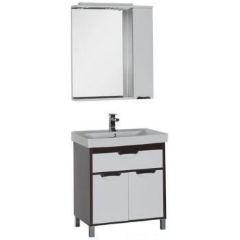 Комплект мебели для ванной Aquanet Гретта 75 венге