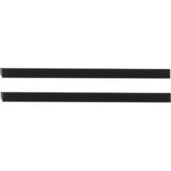Ручки для мебели Aquanet Nova 192 черный, 2 шт