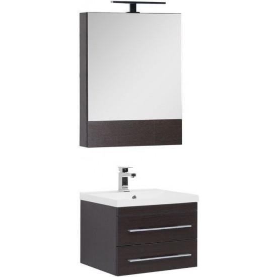 Комплект мебели для ванной Aquanet Нота NEW 58 венге (камерино) в интернет-магазине ROSESTAR фото