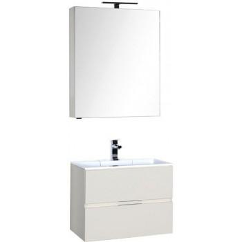 Комплект мебели для ванной Aquanet Алвита 70 крем