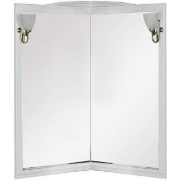 Зеркало Aquanet Луис 70 угловое белый