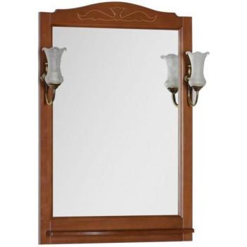 Зеркало Aquanet Амелия 70 орех