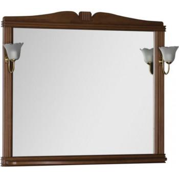 Зеркало Aquanet Николь 110 орех